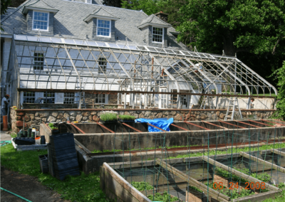 Copper Beech Farm Before Renovation (Griffin Greenhouse & Nursery Supply)